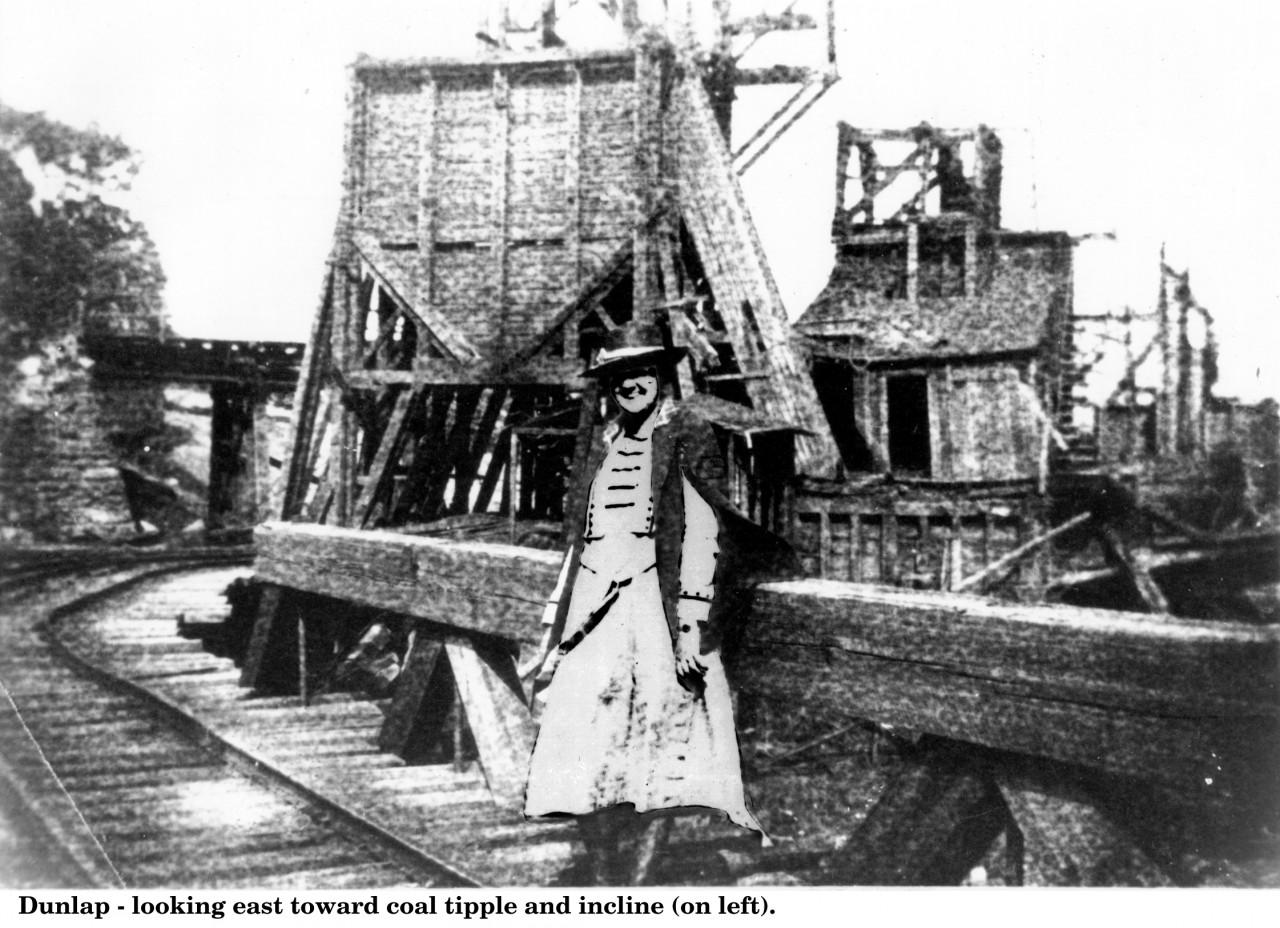 Dunlap Mines Coal tipple w_measles_1#1D5B