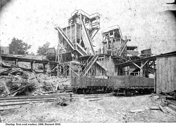 First coal washer 1906