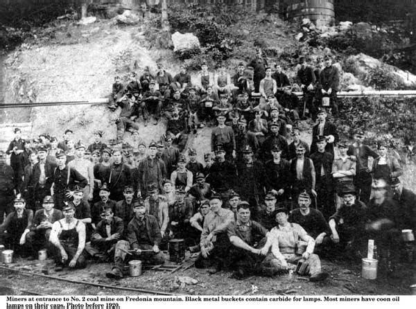 Miners at #2 mine